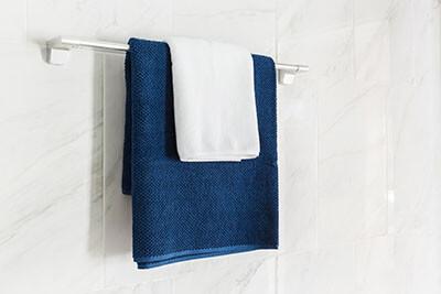 bathroom towel holder